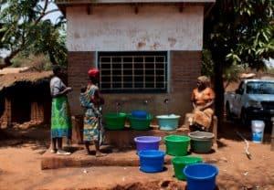 A Water Kiosk in Lilongwe