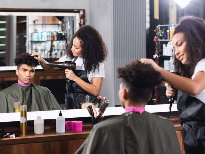 Hair Salon - Template Business Example