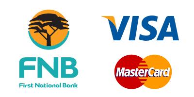 Pay by Visa, Mastercard or bank transfer