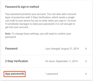 Gmail - App password for email - Step 4