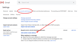 Send email from custom domain - Gmail settings