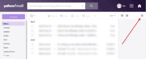 How to send email from your Yahoo Mail account - Step 1