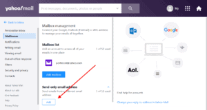 How to send email from your Yahoo Mail account - Step 4