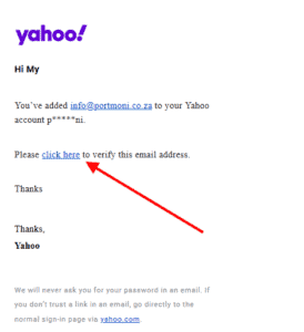 How to send email from your Yahoo Mail account - Step 8