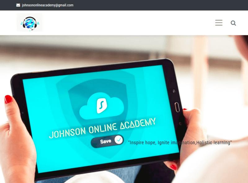 Johnson Online Academy Website