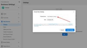 Configure your Facebook Catalog